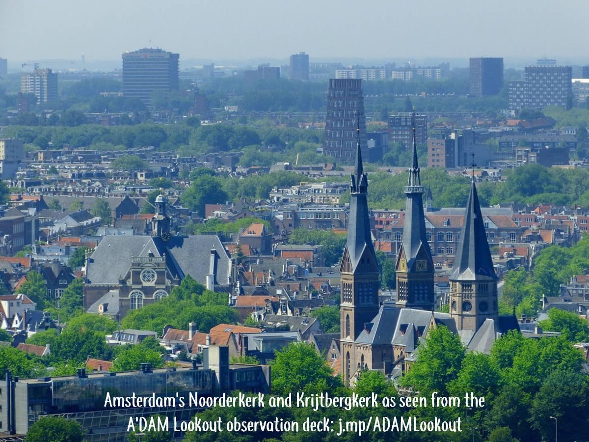 Noorderkerk and Krijtbergkerk